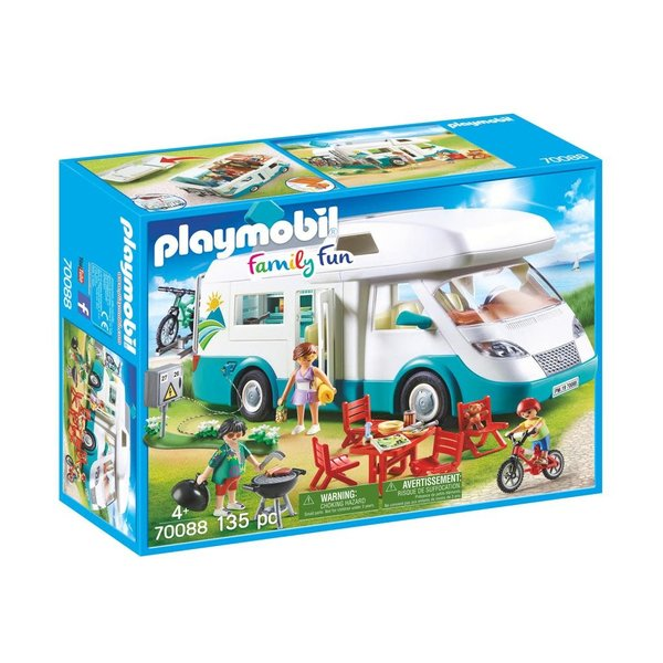 Playmobil 70088 - Camper met familie