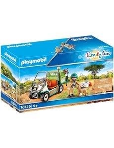 Playmobil 70346 - Dierenverzorger met auto