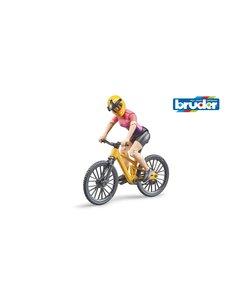 Bruder 63111 - Mountainbike met fietsster