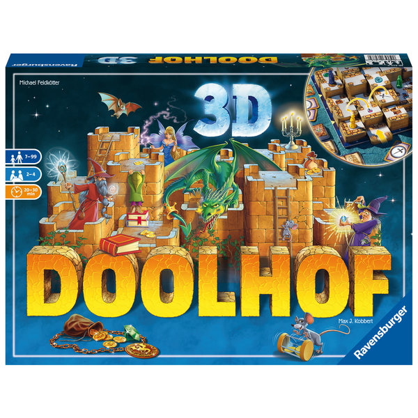 Ravensburger Doolhof 3D