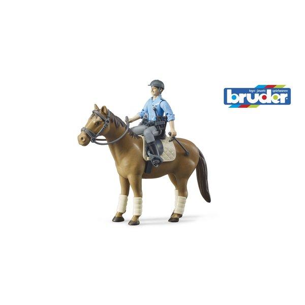 Bruder 62507 - Politieman met paard