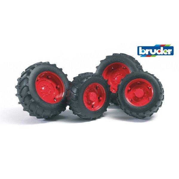 Bruder 2322 - Dubbellucht serie 2000 rood (2013)