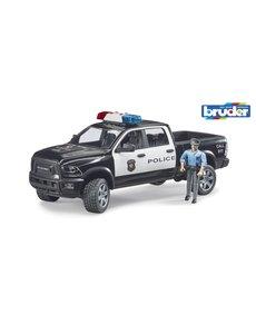 Bruder 2505 - RAM 2500 Power Wagon politieauto met agent, licht en geluid
