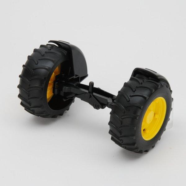 Bruder 42050 - Vooras geel voor kleine maat John Deere