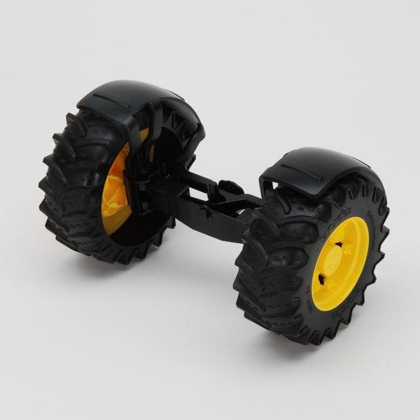 Bruder 43050 - Vooras geel voor John Deere