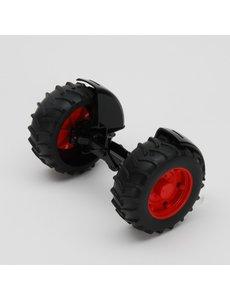 Bruder 42060 - Vooras rood voor kleine maat Fendt