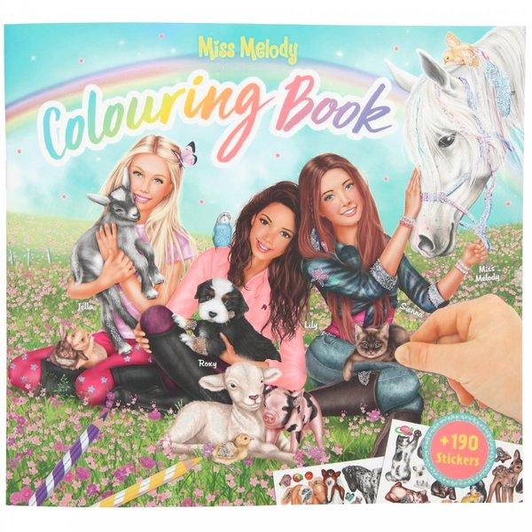 Depesche Miss Melody  Kleurboek met dieren