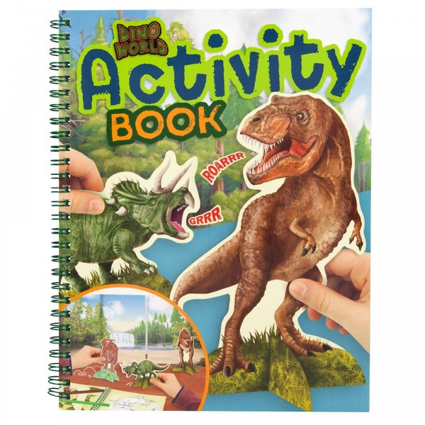 Depesche-TopModel Dino World Activity book