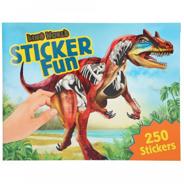 Depesche-TopModel Dino World Sticker Fun