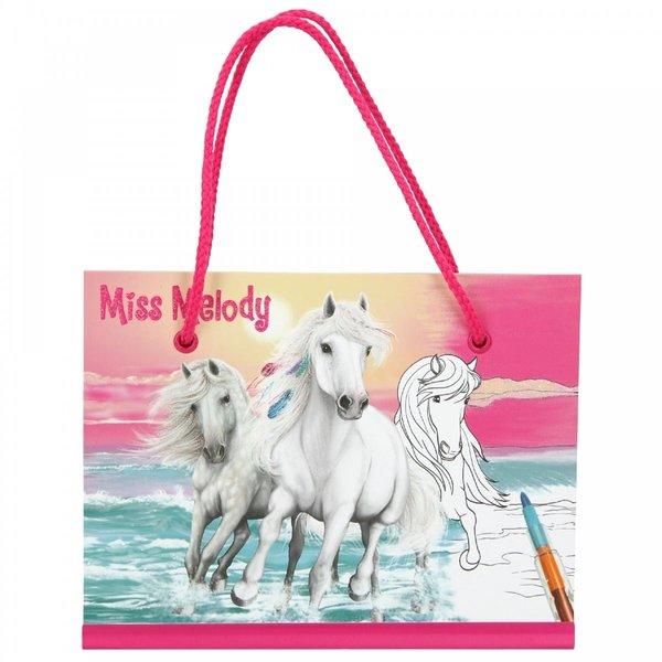 Depesche-TopModel Miss Melody Kleurboek met kleurpotloden