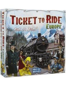 days of wonder Ticket to ride: Europe