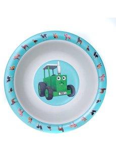 Tractor Ted Ontbijtschaaltje  babydieren bamboo