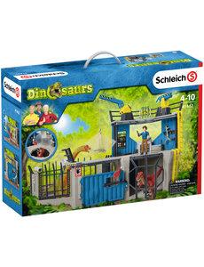 Schleich 41462 - Groot Dino onderzoeksstation
