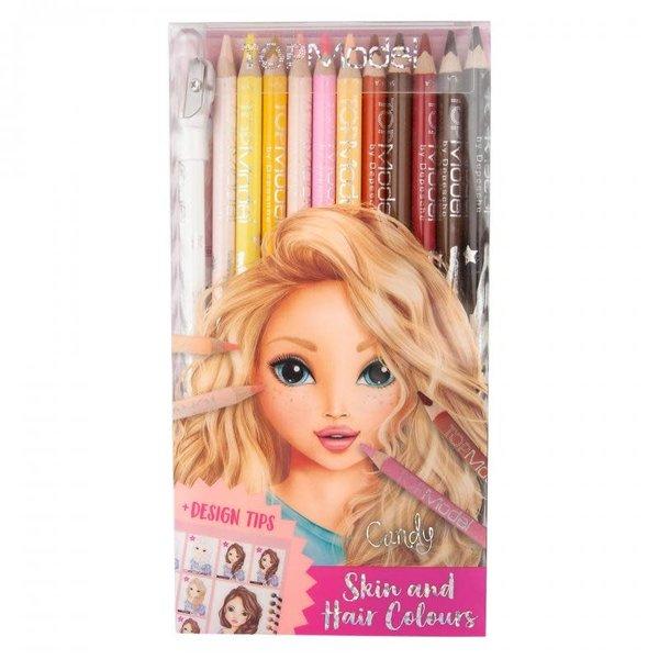 Depesche Kleurpotloden huid- en haarkleuren