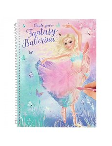 Depesche-TopModel Create your Fantasy Ballerina kleurboek