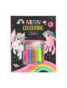 Depesche Ylvi & the Minimoomis Neon kleurboek set