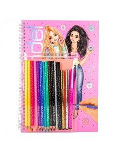 Depesche Kleurboek met potloden