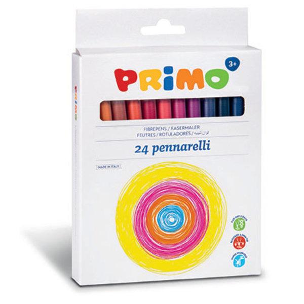Primo 24 Viltstiften uitwasbaar dun