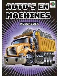 Tactic/Selecta Auto's en machines kleurboek