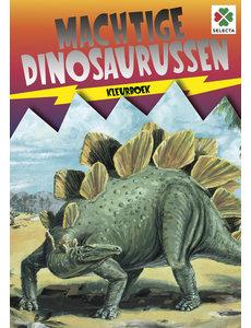 Tactic/Selecta Dinosaurus kleurboek