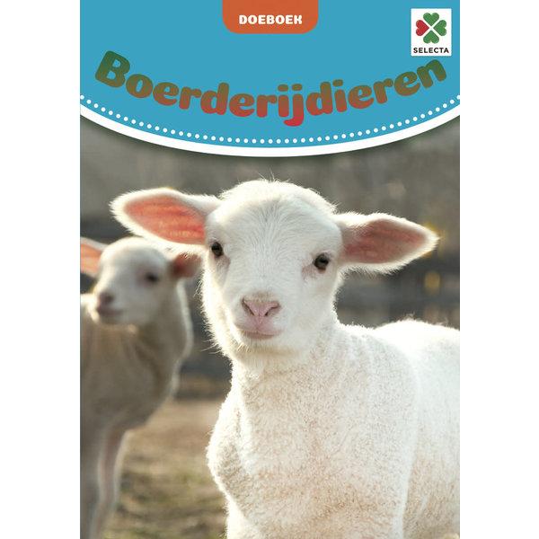 Tactic/Selecta Boerderijdieren Doeboek