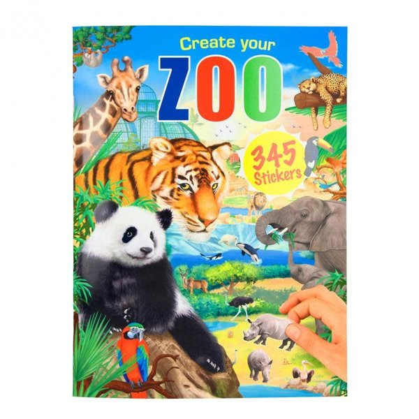 Depesche-TopModel Create your zoo stickerboek