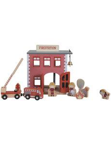 Little Dutch Railway brandweerkazerne