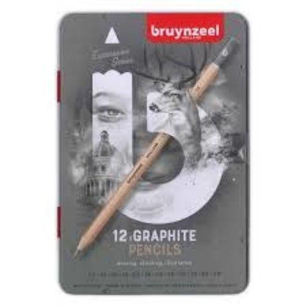 Bruynzeel Expression Graphite - 12 st.