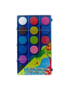 Waterverf 18 kleuren