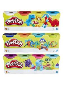 Play-Doh 4 Potjes klei, classic