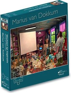 marius van dokkum Wachten op inspiratie - Marius van Dokkum (1000 st.)