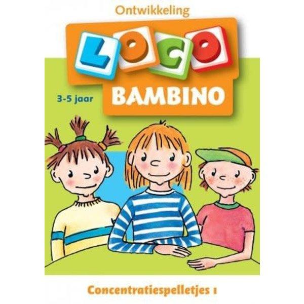 Concentratiespelletjes - Bambino