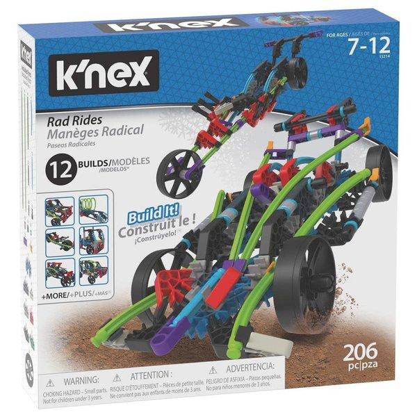 K'nex Building set Rad Rides 12 in 1