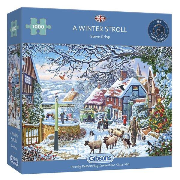 Gibsons A Winter Stroll - 1000 stukjes