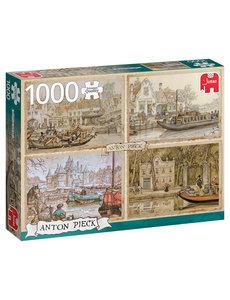 Jumbo Anton Pieck - Boten op de gracht - 1000 st.