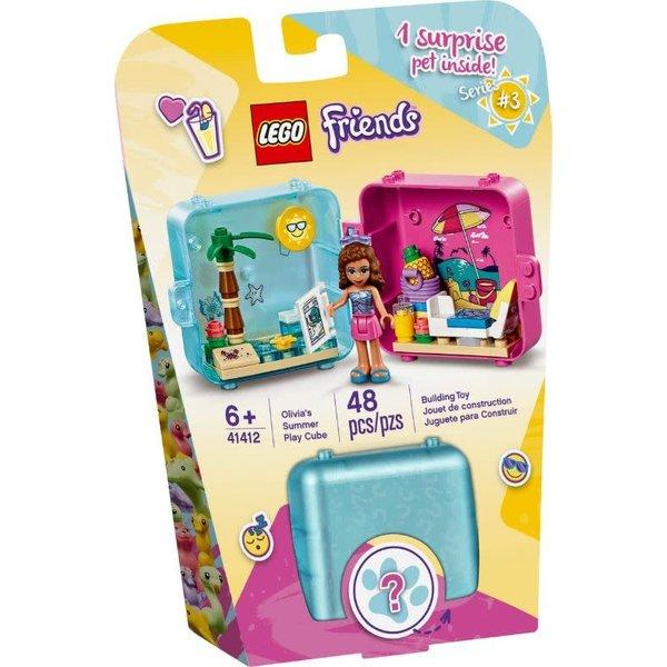 LEGO 41412 - Olivia's zomerspeelkubus