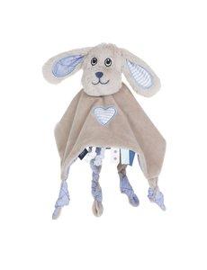 Jipy hond knuffeldoekje - blauw