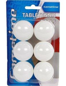Gametime Tafeltennisballen 6 stuks