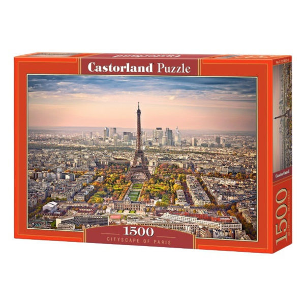 Cityscape of Paris, 1500 st.