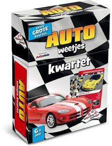 Identity Games Weetjes kwartet - Auto's
