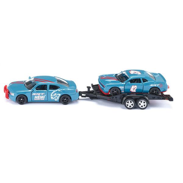 Siku 2565 Dodge Charger met Dodge Challenger SRT Racing 1 :55
