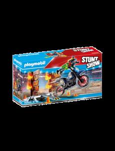 Playmobil 70553 - Motor met vuurmuur