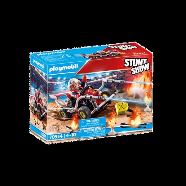 Playmobil 70554 - Brandweerkart