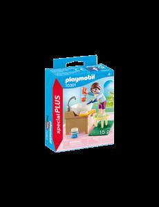 Playmobil 70301 - Meisje aan wastafel