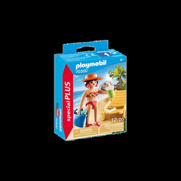 Playmobil 70300 - Vakantieganger met strandstoel
