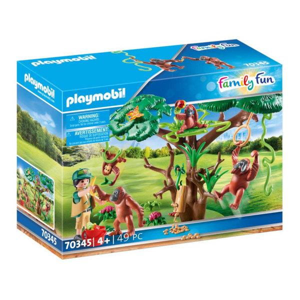 Playmobil 70345 - Oerang-Oetans in de boom