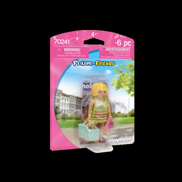 Playmobil 70241 - IT-girl met chihuahua