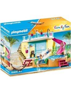Playmobil 70435 - Bungalow met zwembad