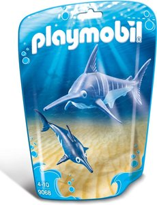 Playmobil 9068 - Zwaardvis met jong