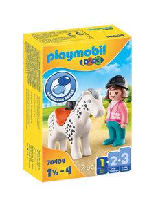Playmobil 70404 - Ruiter met paard